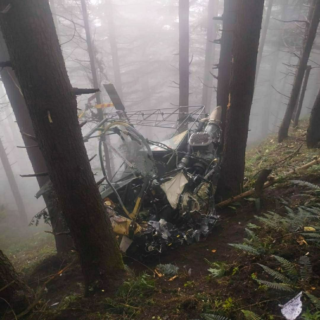 Army helicopter crashes in Udhampur district of J&K