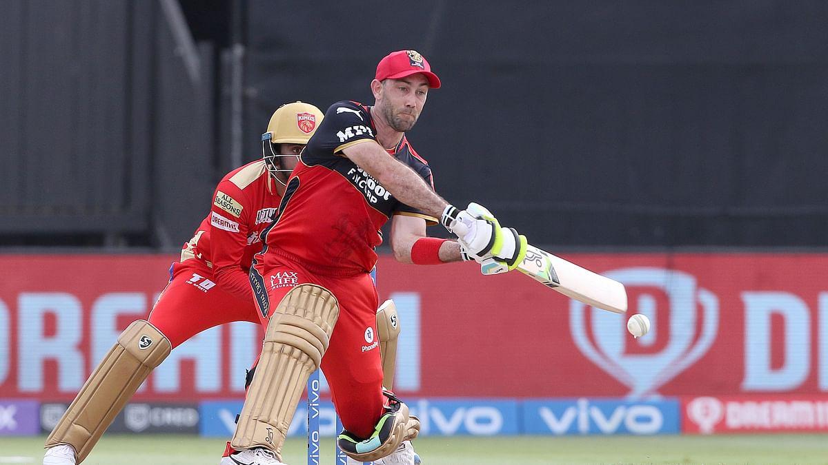 IPL 2021: RCB post 164/7 against Punjab Kings