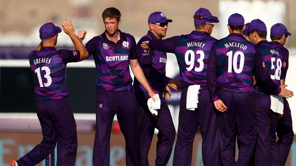 T20 World Cup: Scotland beat PNG for second win in a row