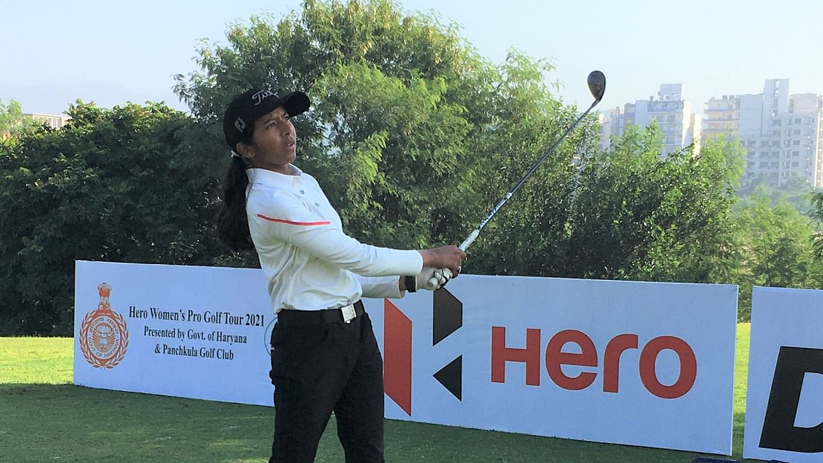 Amateur Avani claims  the second title of Hero WPGT season; Amandeep finishes second