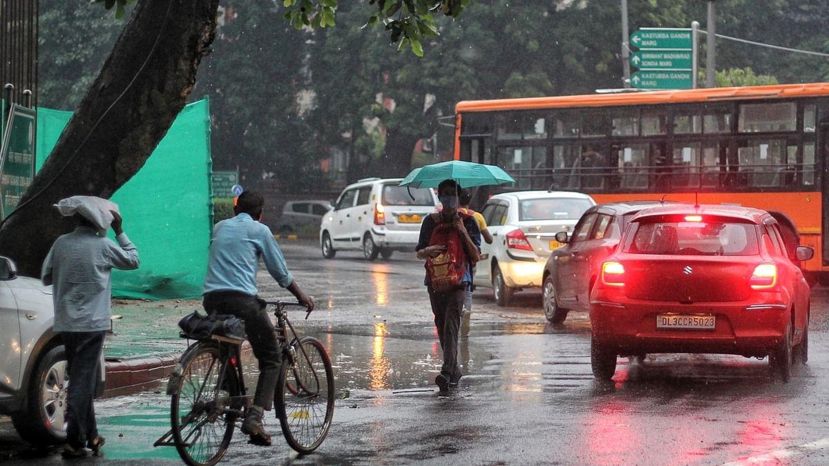 Rains lash parts of Delhi-National Capital Region