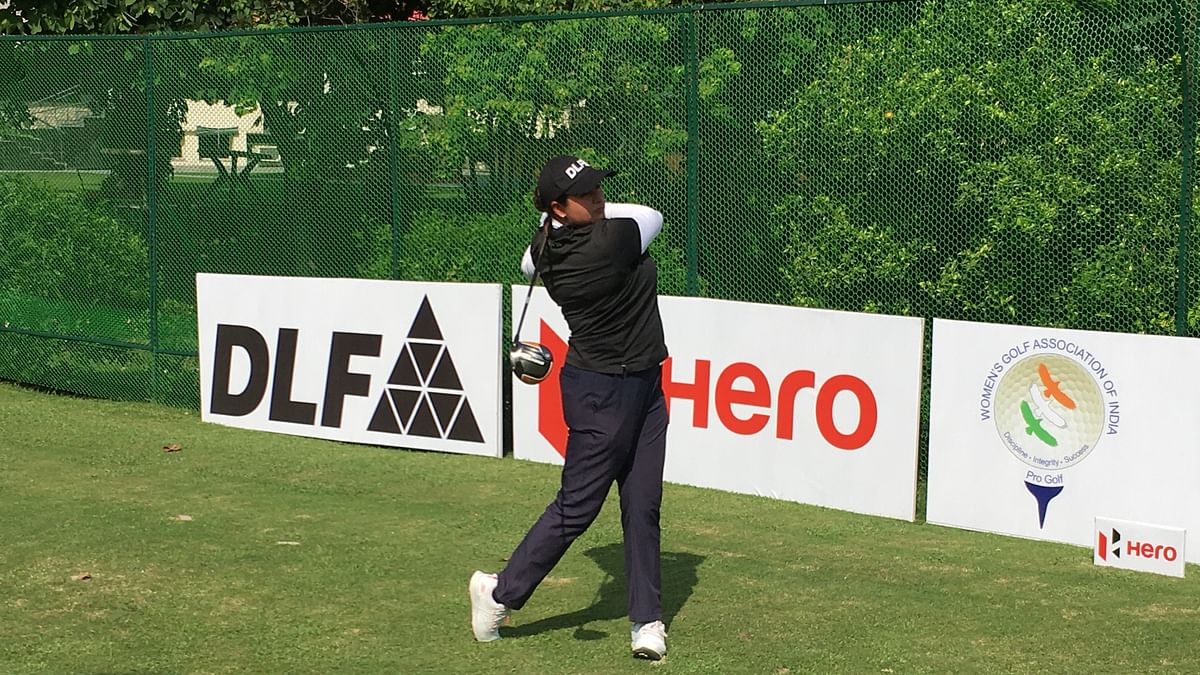 Amandeep  cards 68 to  lead the first round of the 10th leg of Hero WPGT