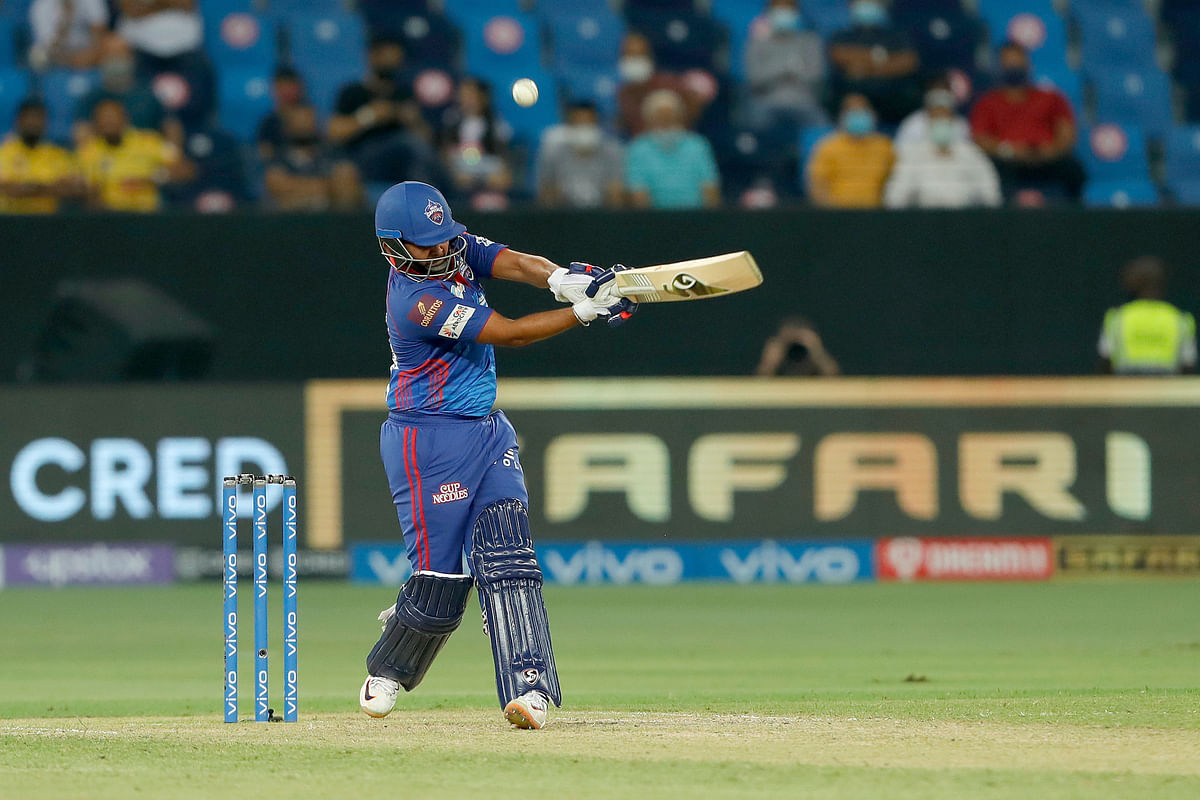 IPL 2021: Shaw, Hetmyer and Pant carry Delhi to 172/5 against CSK in Qualifier 1