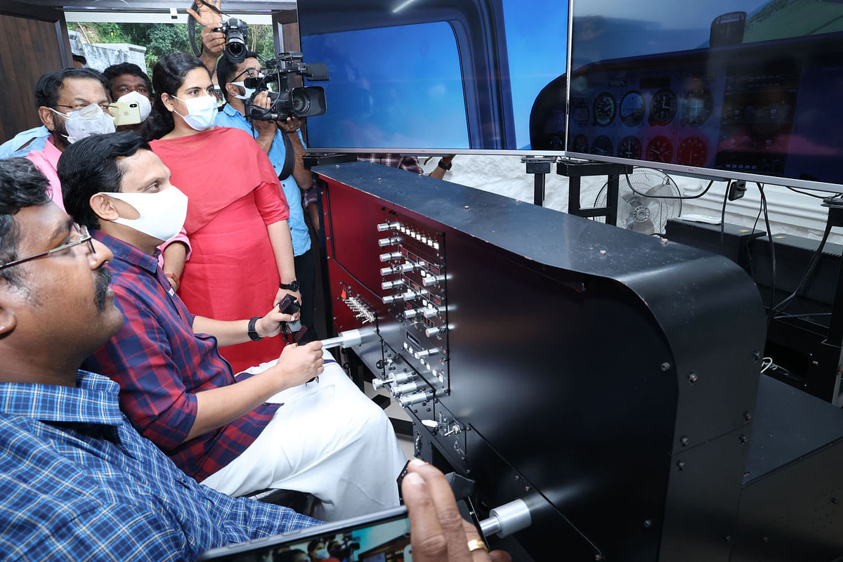 Kerala Tourism Minister dedicates Air Force Museum at Akkulam Tourist Village