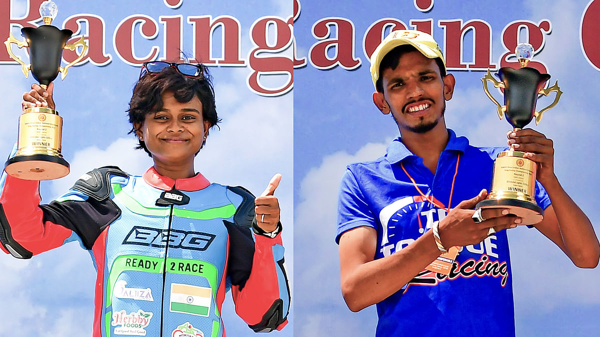 Double for Bengaluru rider Mohammed Rafiq; Soundari Sindy tops in Girls category
