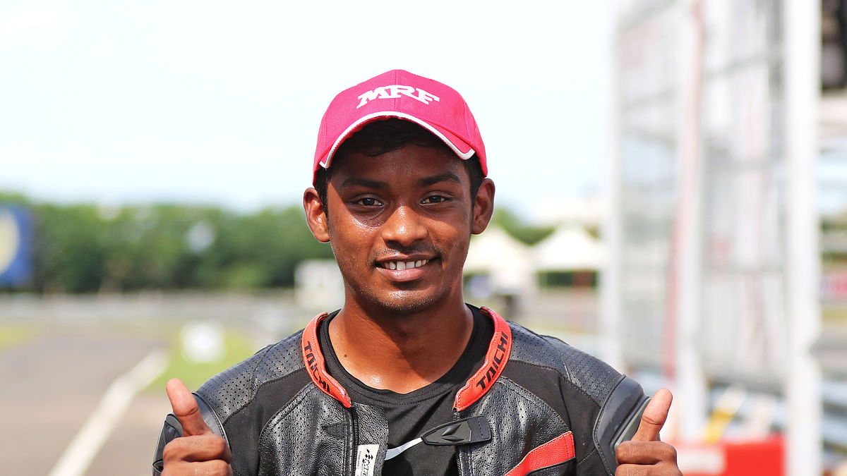 Rahil Shetty leads quality field in premier class, Ahamed leads podium sweep for TVS Racing
