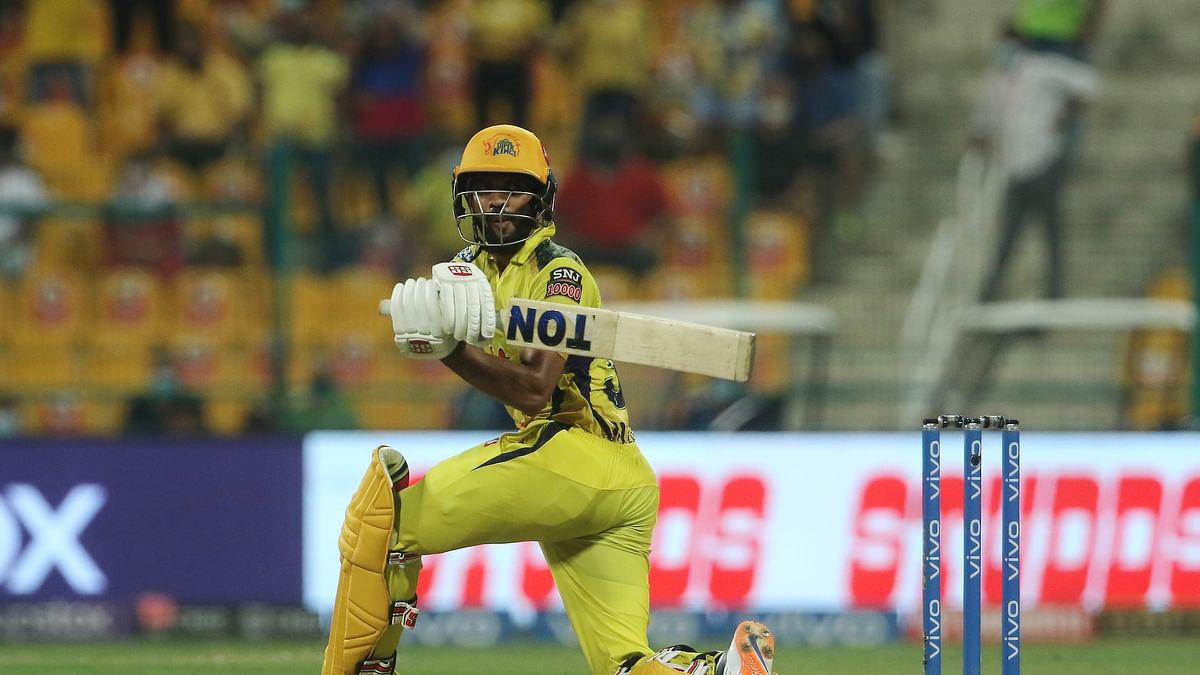 IPL 2021: Gaikwad gets century on final ball as Chennai finish at 189/4 against Rajasthan