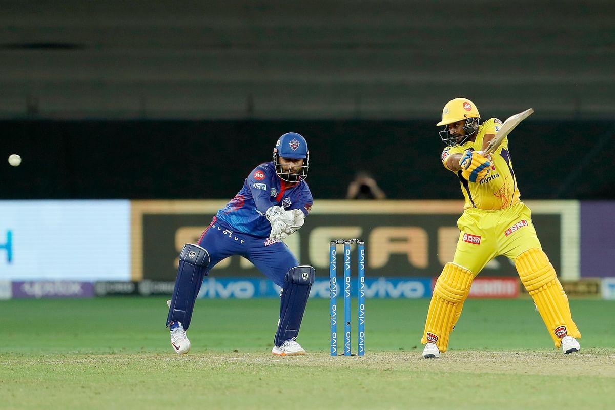 IPL 2021: Rayudu's half-century carries Chennai to 136/5 against Delhi Capitals