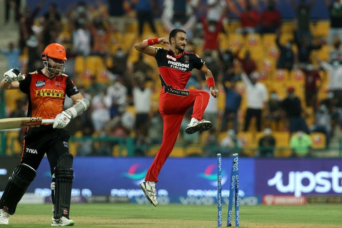 IPL 2021: Patel leads the charge for Bangalore as Hyderabad restricted to 141/7