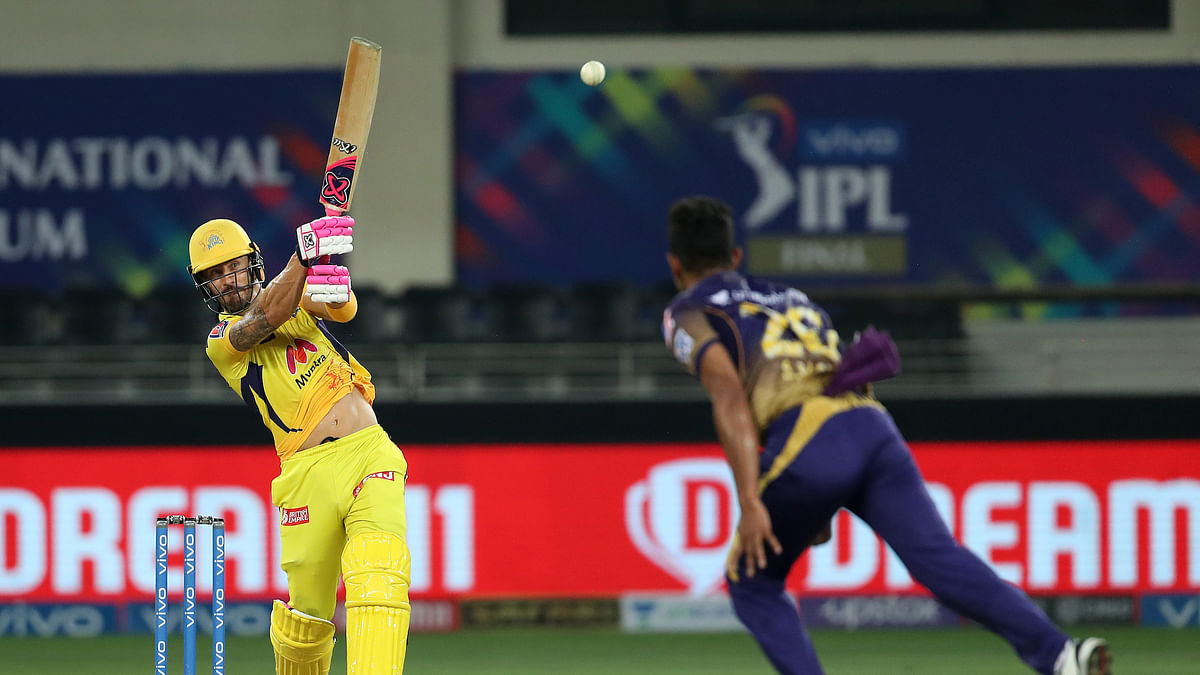 IPL 2021 Final: Magnificent du Plessis guides Chennai to 192/3