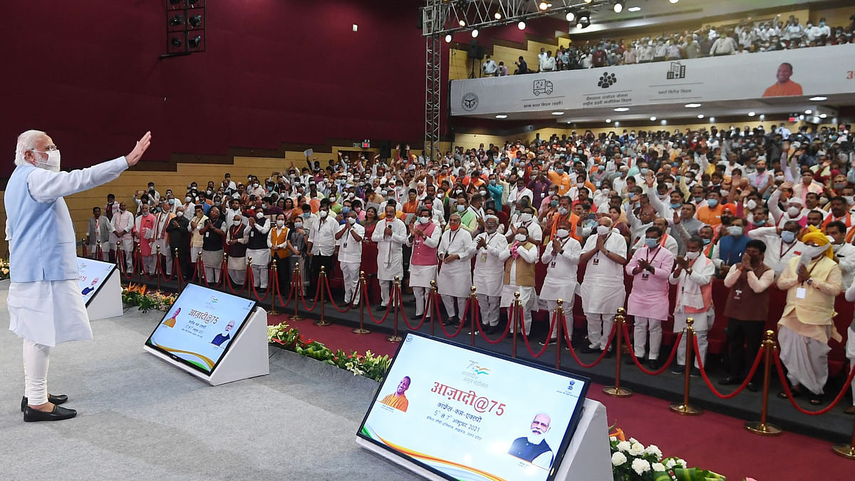 Modi launches slew of development projects in Uttar Pradesh