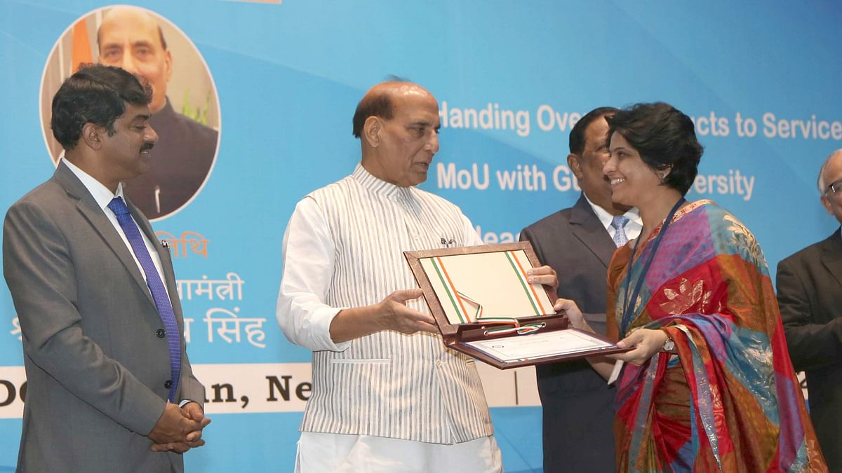 Rajnath gives away DRDO Dare to Dream 2.0 & Young Scientists awards