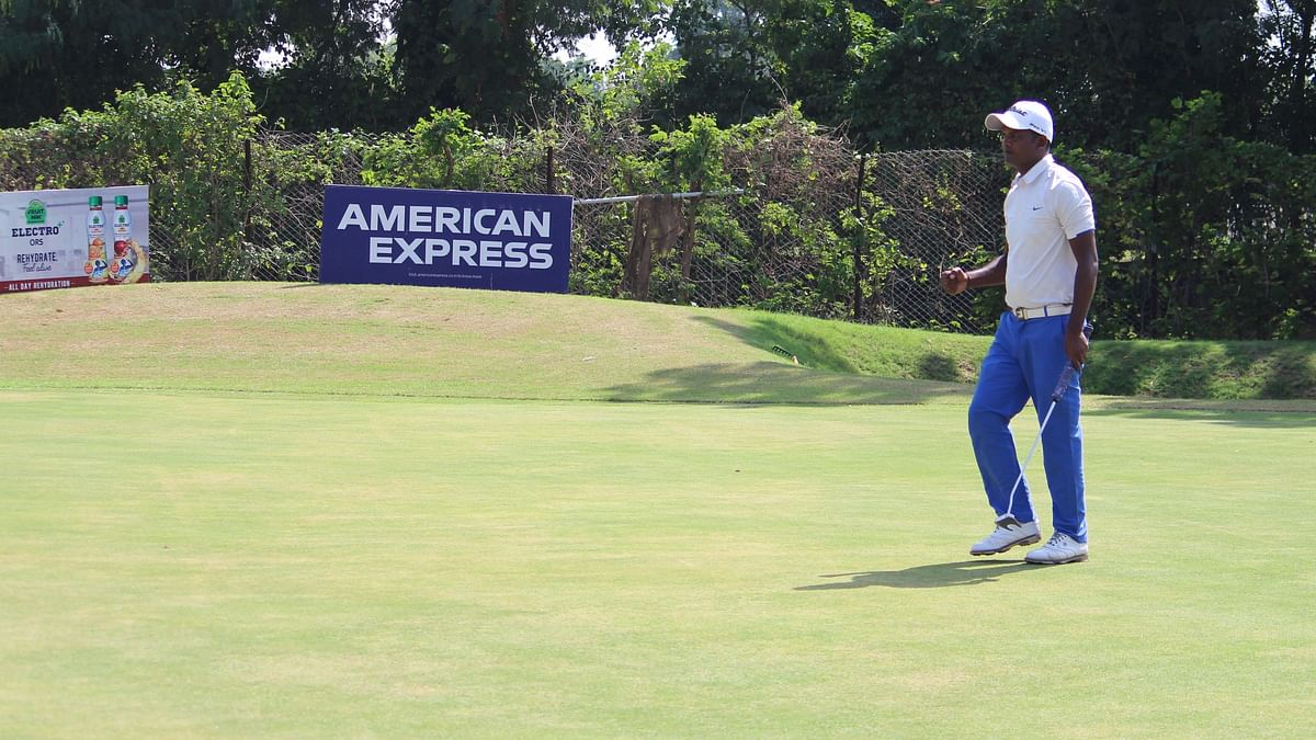 M Dharma dominates round two with a second straight 62, opens three-shot lead at Jaipur Open