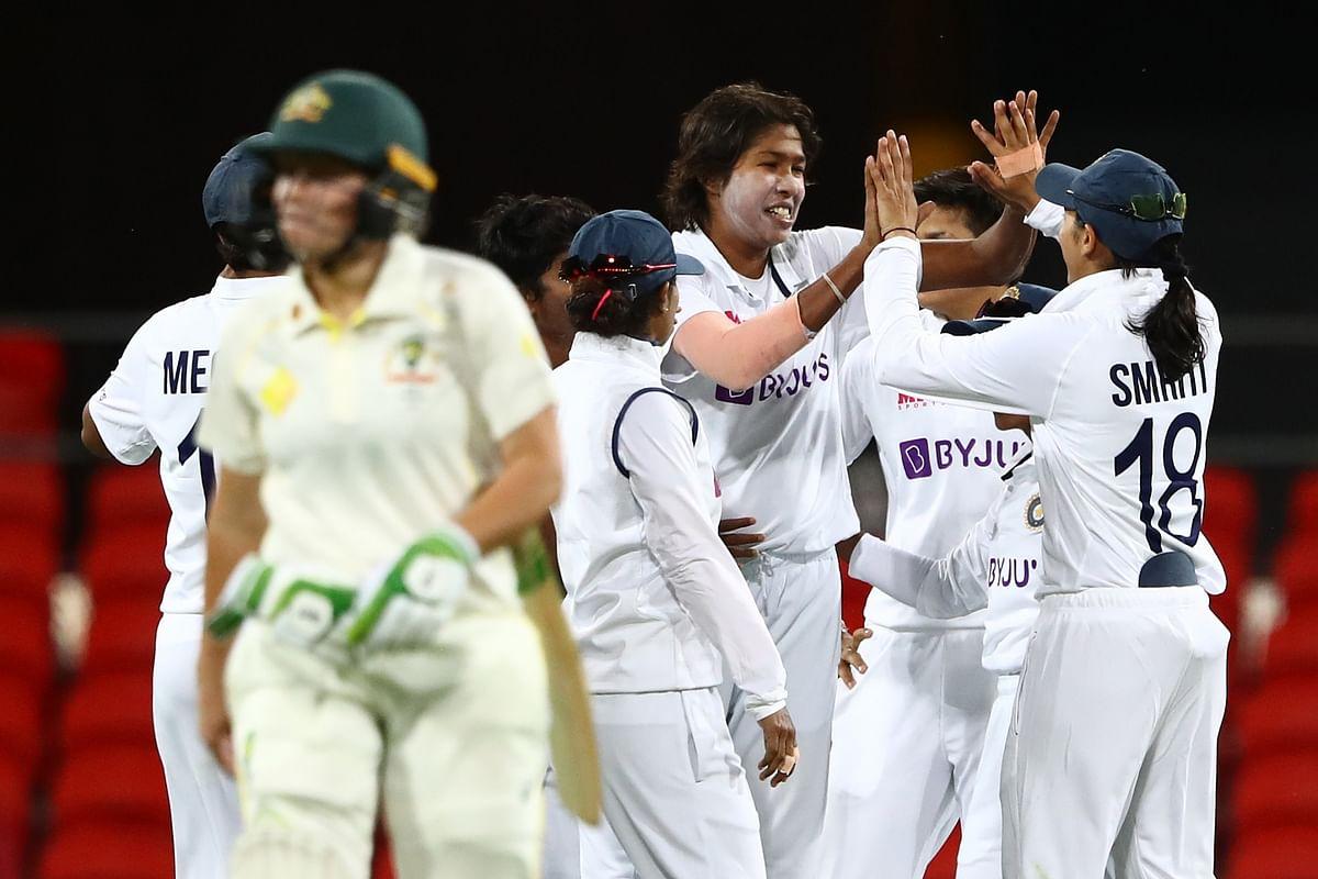 Pink-ball Test: Australia finish day three at 143/4, trail India by 234 runs