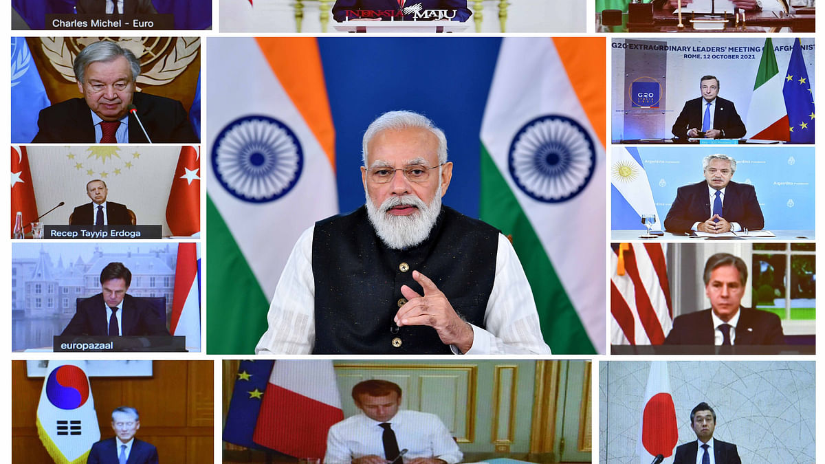 Modi underlines need to ensure Afghan territory does not become a source of terrorism