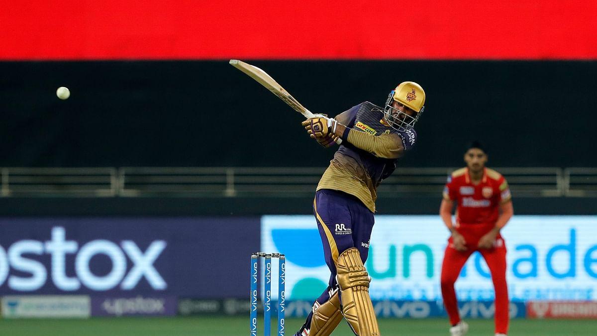 IPL 2021: Iyer helps KKR to 165/7 against Punjab