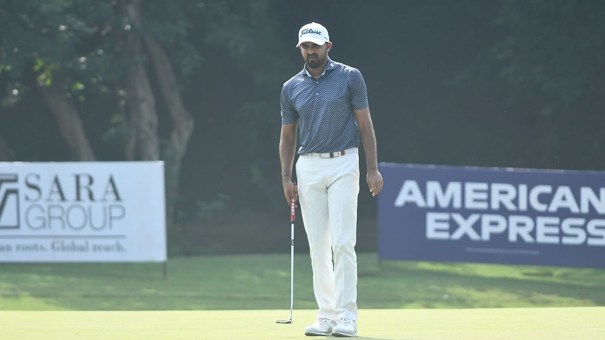 Golf: Khalin Joshi cards 66 to emerge sole leader at half-way stage of PGTI MP Cup