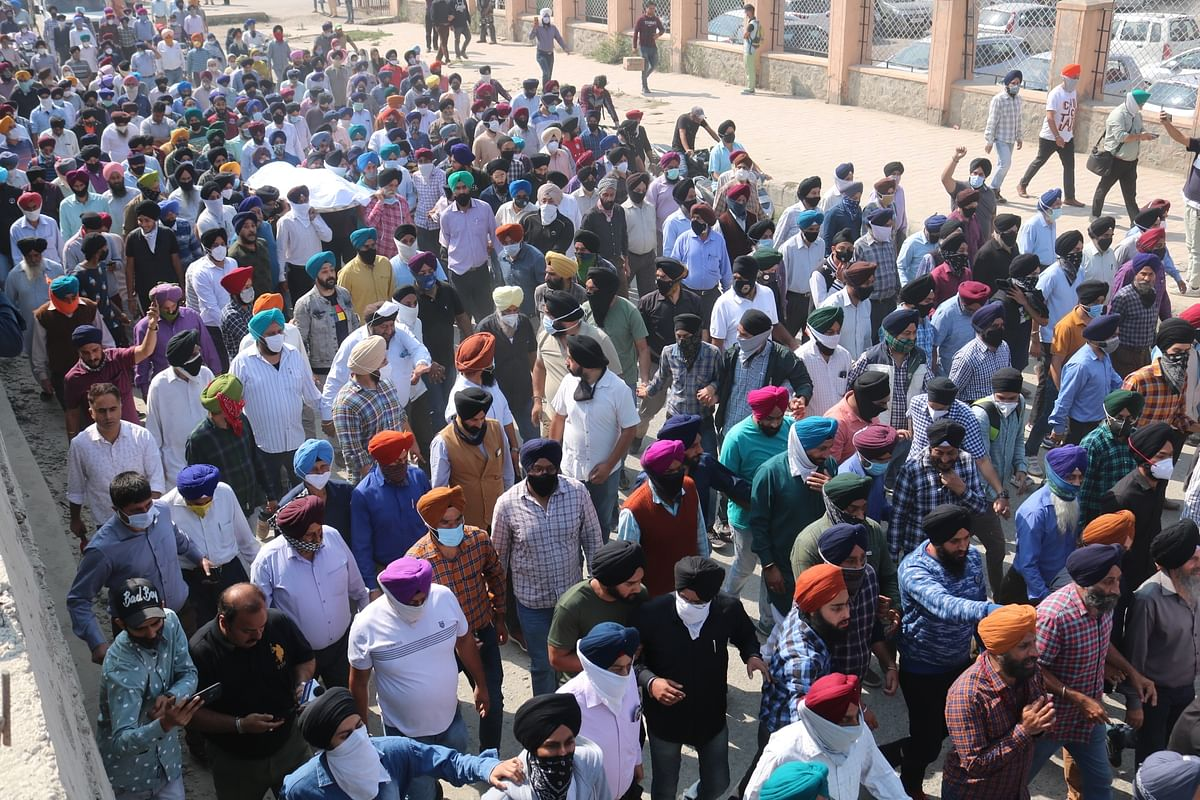 'Won't attend duty unless given protection,' says J&K Sikh body