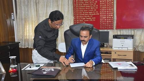 P L Haranadh takes over as Chairman of Paradip Port Trust