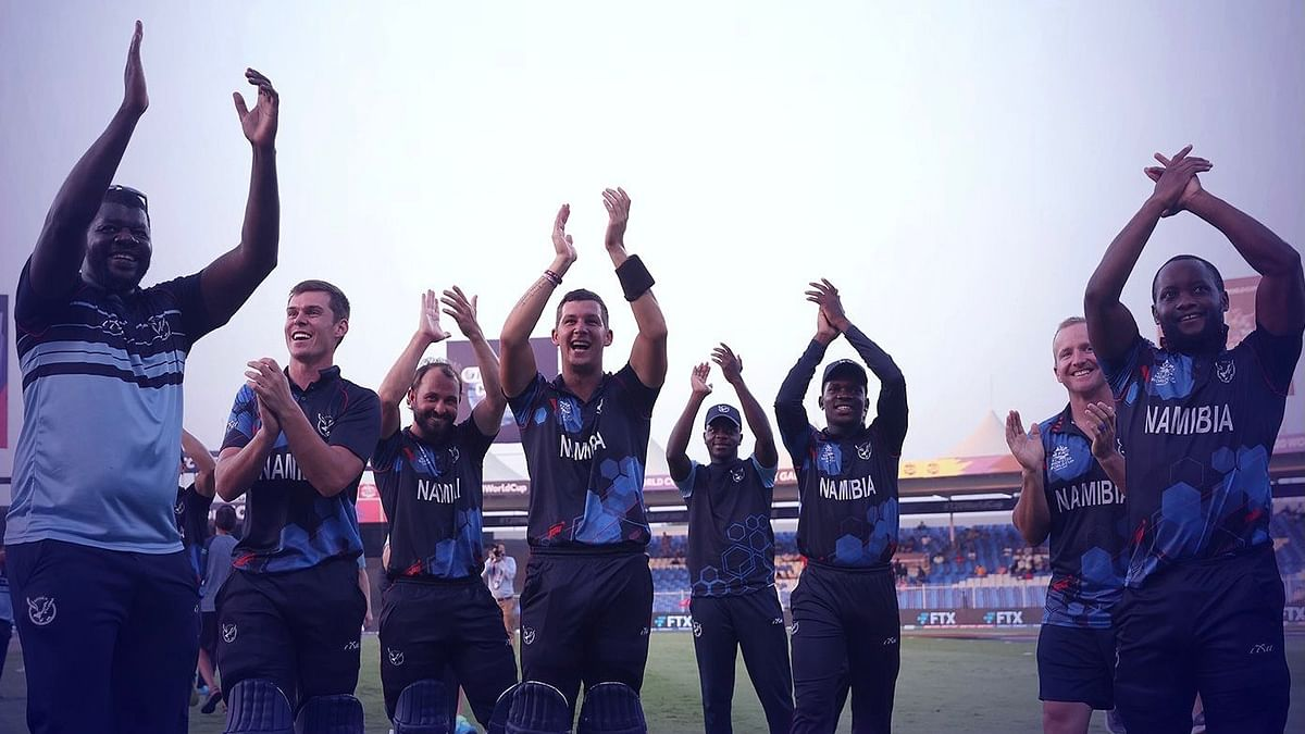 T20 World Cup: Erasmus, Wiese power Namibia to Super 12 stage