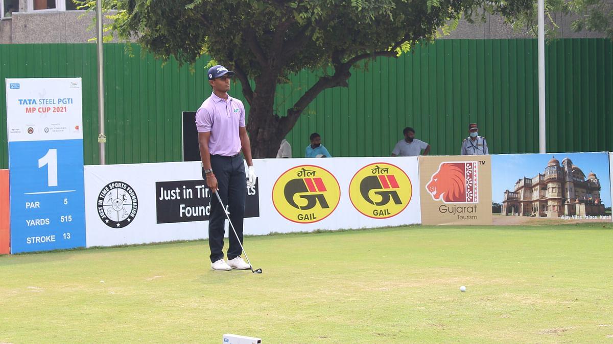 Viraj Madappa joins Khalin Joshi in the lead at Tata Steel PGTI MP Cup