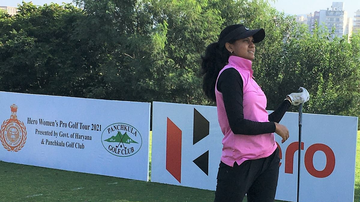Pranavi Urs takes one-shot lead over Amandeep in 11th leg of Hero WPGT