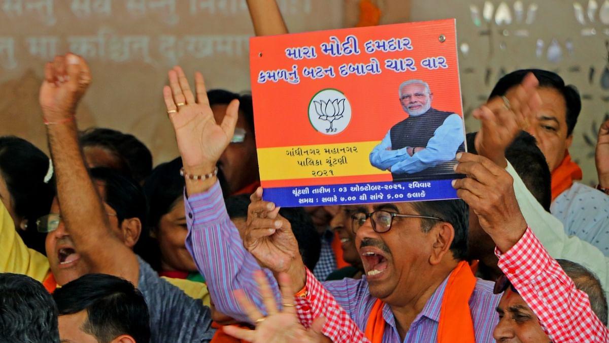 BJP makes clean sweep in Gandhinagar Municipal Corporation polls