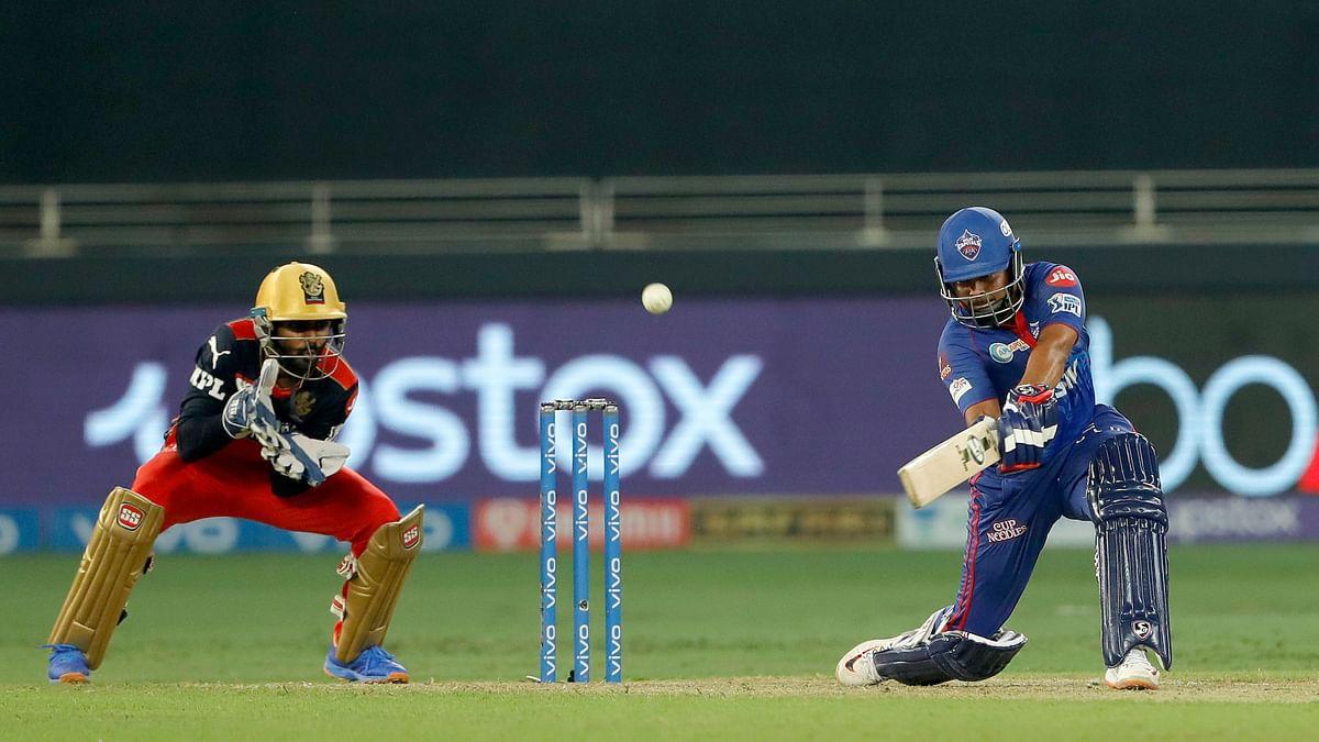 IPL 2021: Delhi Capitals post 164/5 against RCB