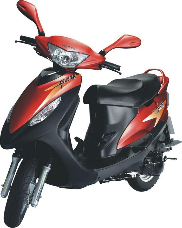 Mahindra's first two-wheeler offering - Flyte.