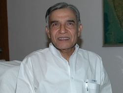 Pawan Kumar Bansal taking charge of the Water Resources Ministry