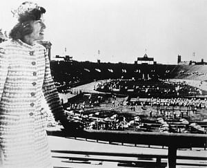 Eunice Kennedy Shriver opens the first Special Olympics Games in Chicago in 1968 / Image: Special Olympics