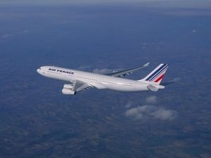 File photo of an Air France aircraft