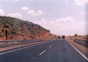 File photo of a highway in India.