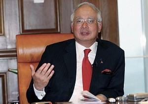 File photo of Malaysian Prime Minister Datuk Seri Mohd Najib Tun Abdul Razak.
