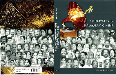 Cover of 'The Playback in Malayalam Cinema'.