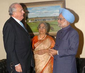 PM reaches Brazil to attend IBSA, BRIC Summits