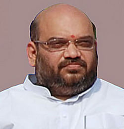 File photo of Gujarat Minister of State for Home Amit Shah.