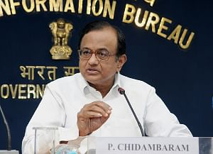 File photo of Union Home Minister P. Chidambaram