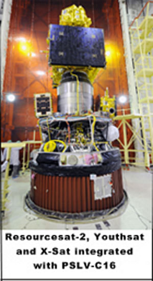 RESOURCESAT-2 satellite