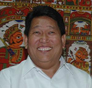 Chief Minister of Arunachal Pradesh Dorjee Khandu.