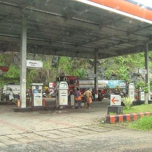 File photo of a petrol pump
