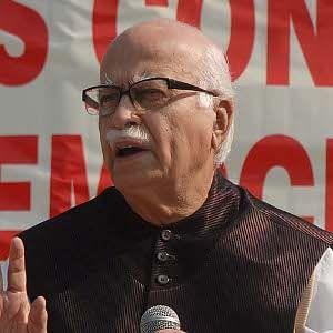 File photo of L. K. Advani