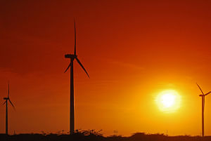 File photo of windfarm in Gujarat