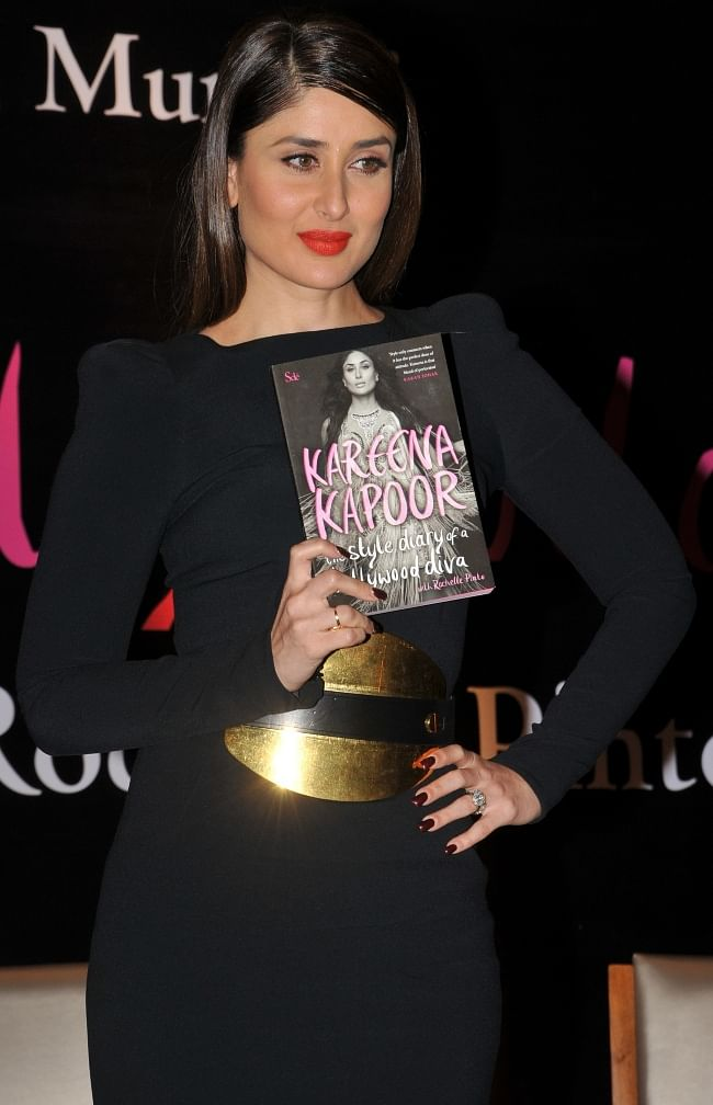 Bollywood actress Kareena Kapoor launching, 'The Style Diary of a Bollywood Diva', a book on her by Rochelle Pinto, at Shangri-La Hotel in Mumbai on February 6, 2013.