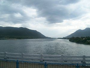 A view of the Cauvery near the Mettur Dam in Tamil Nadu. Photo by Srikanth Ramakrishnan (from Wikipedia Commons)