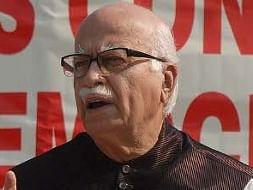 File photo of senior BJP leader L. K. Advani.