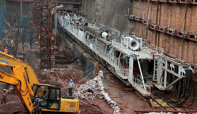 A 96 metre-long completely assembled underground Tunnel Boring Machine began tunnelling work between Jama Masjid and Delhi Gate Metro stations of the Delhi Metro on July 8, 2013. This is the longest TBM ever used in Delhi Metro project and weighs approximately 500 tonnes.