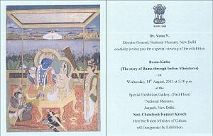 Exhibition on Rama Katha miniatures opens in Delhi