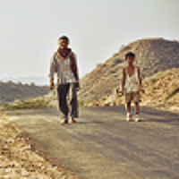 A still from The Good Road