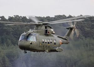 File photo of an AW101 helicopter. Image courtesy AgustaWestland website